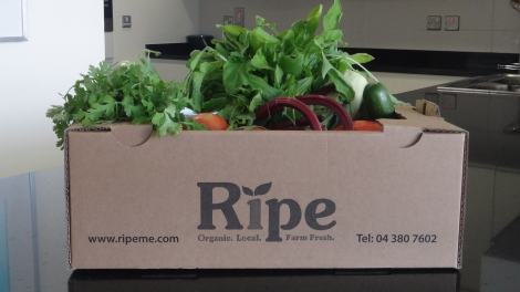 Weekly Box of RIPE ME Vegetables