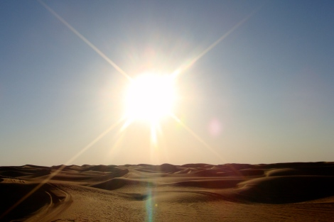A glimpse of the Arabian Desert