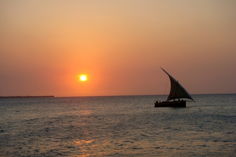 Sunset from the Zanzibar Serena Inn