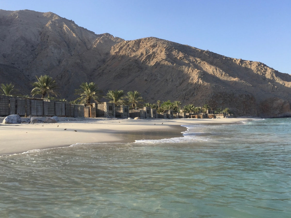 Nestled by the Sea at Zighy Bay, Oman